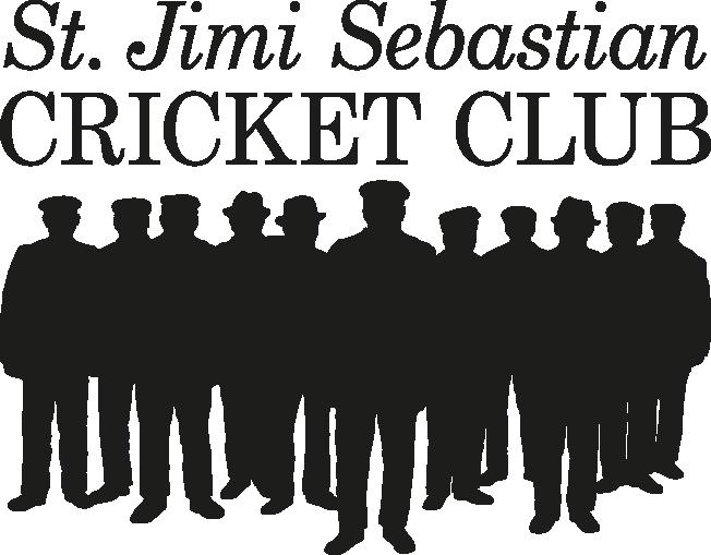 St. Jimi Sebastian Cricket Club Logotyp